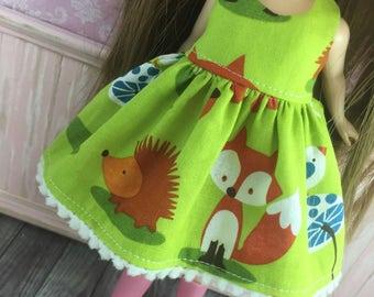 Blythe Dress - Woodland Friends