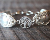 Amazing Antique Spoon Bracelet With Tree of Life Charm - FREE Shipping!