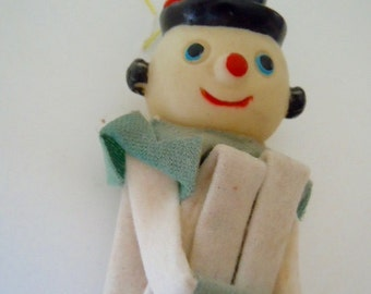 Vintage Knee Hugger Snowman