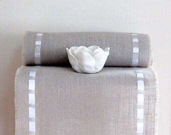 Burlap Table Runner - Classy, Modern Table Topper - Timeless Gift Idea