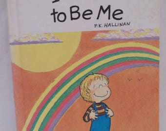 Children's Book, I'm Glad to Be Me, P. K. Hallinan, Signed