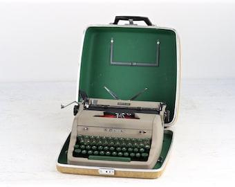 Typewriter Royal Quiet De Luxe Typewriter, Working Vintage Royal Typewriter 1956 Royal Quiet De Luxe Typewriter Mid Century Typewriter