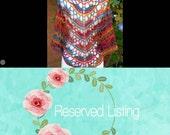 Reserved Listing for Christinaklane!