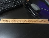 Ruler Personalized Gifts for Teachers, Teacher Appreciation Gift, Unique Gifts for Teacher - 12 Inch Personalized Ruler - Sewing ruler