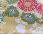 1 yard - Joel Dewberry Botanique Bold Bouquet in Butter PWJD079.Butter
