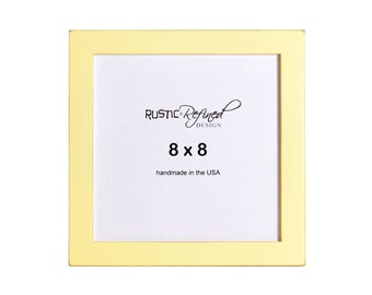 """8x8 Gallery 1"""" picture frame - Daffodil"""