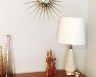 Mid Century Modern Atomic Era Table Lamp