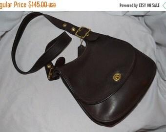 ON SALE Coach~Coach Bag~ Bonnie Cashin Bag~Coach Saddle Bag~ Dark Brown~