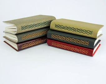 Leather Journal, Travel Journal, Leather Notebook, Kisses Journal