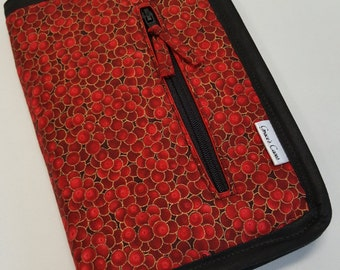 NEW!! ETC case in Red Bubbles
