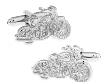 motorcycle cufflinks | etsy