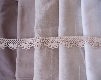 Bedspread King, queen Bed spread Ruffled bedding-oatmeal beige Neutral hand crochet lace linen ruffle throw coverlet blanket, top sheet