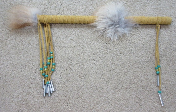 Talking stick native american wall hanging wall decor for Native american handmade crafts