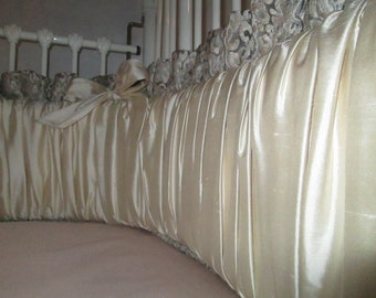 Shirred Crib bumpers and Skirts