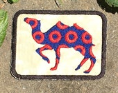 Camel Walk, handmade Phish patch, iron on, music, festival, fishman donuts, hippie, strut your stuff, upcycled, recycled, eco