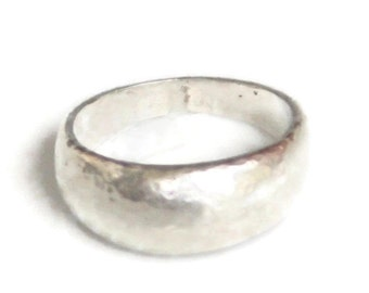 Sterling Silver Domed Ring - Choose the Texture