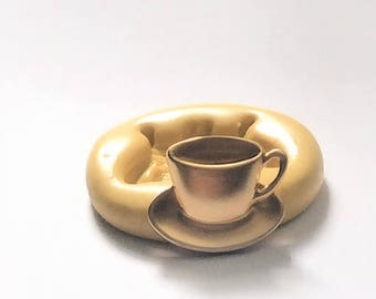 Teacup mold- flexible silicone push mold / craft/ dessert/ mini food / soap mold/ resin/jewelry and more...