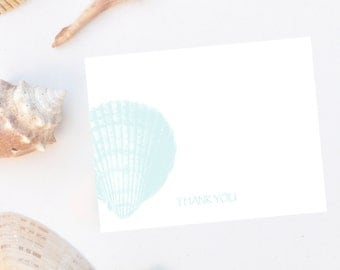 Simple Shell Note Cards