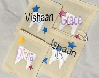 Tooth fairy bag personalized