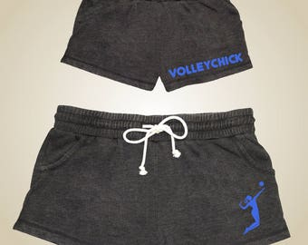 VolleyChick Hermosa volleyball shorts for women and girls