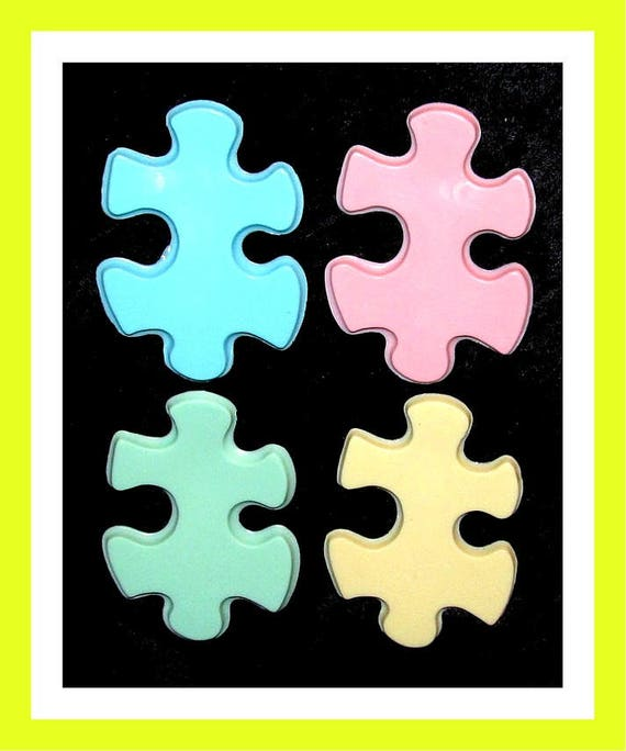 24 Puzzle Soap Favors,Birthday Party Favors,Baby Shower Favor,Personalized Button Pin,Girl Party Favor,Boy Party Favor,Kid Soap,Kid Favor
