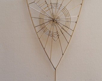 Spiders Web on Driftwood