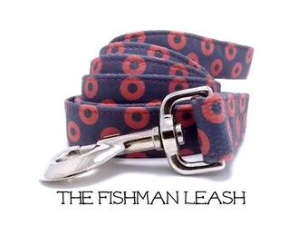 Phish Dog Leash, Phish Leash, Fishman Leash, Fishman Dog Leash, Phish Leash, Fishman Donut Leash, Phish, Fishman Leash (sold separately)
