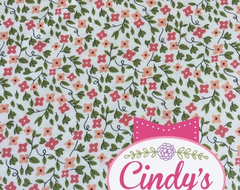 Little Miss Sunshine Cloud Tiny Flower 30's Moda Cotton Quilt Fabric by the 1/2 yard #5024 11
