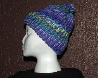 Knit Pom Hat