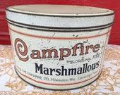 Vintage tin Campfire Marshmallows
