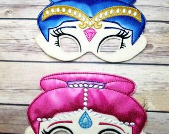 Premium Shimmer and shine  mask set