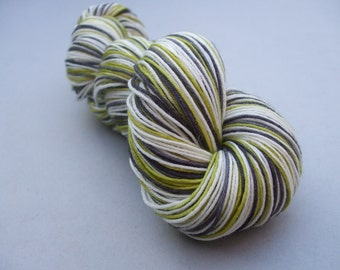 Soft Socks 4 ply Yarn Stripes. In Splendid Isolation