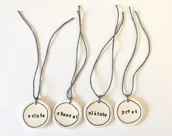 NIFTY GIFTY custom bottle gift tags