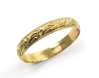 Women wedding ring.wedding band.wedding ring.yellow gold band. gold wedding band.gold wedding ring.women wedding band. (gr-9154-890).
