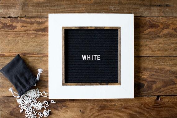 letter board 13 39 39 x13 39 39 felt changeable by vermilliondrive. Black Bedroom Furniture Sets. Home Design Ideas
