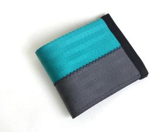 Vegan seatbelt wallet