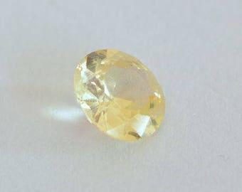 1.11 Carats Untreated Yellow Sapphire SKU 2617