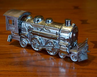 Avon Leather Cologne Collectible Train Bottle