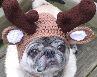 Marty Moose / Dog Hat / Made To Order