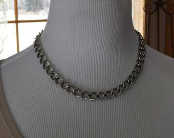 Choker chain necklace one of a kind necklace