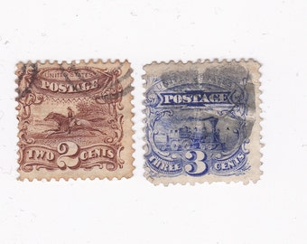 1869 Pictorial US Postage Stamps