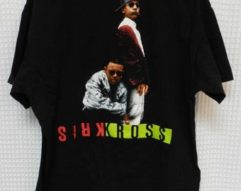 vintage Kris Kross Rap T Shirt original hip hop tee 90s 1992 authentic RARE nineties mac daddy promo tour concert