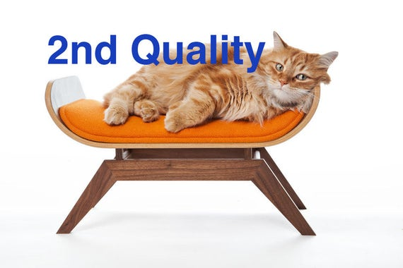 Base ONLY // The Canopy Lounge - 2nd Quality Base ONLY // Cat Bed // Mid Century