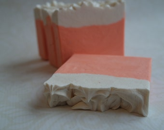 Ginger Orange Goat's Milk Soap with Silk