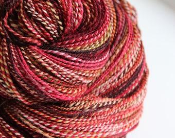 Handspun Yarn: A Tinkle and a Glint
