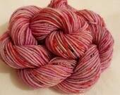 Mini Skein sock fingering yarn 20g Superwash Merino  Hand dyed