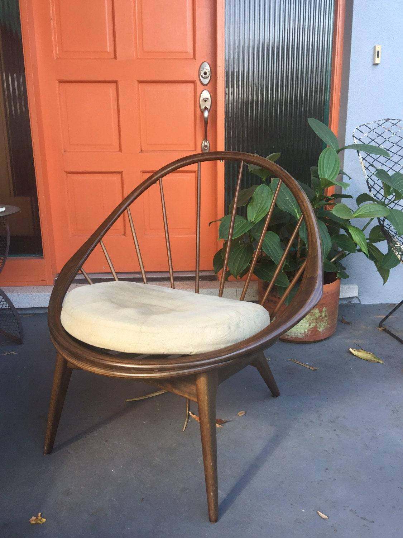 Ib Kofod-Larsen Peacock or Hoop Chair