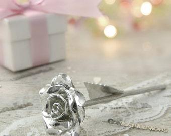 13th Anniversary Gift Everlasting Rose - 13 Year Anniversary Gift Idea