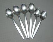 Gense Sweden FOCUS stainless steel flatware set of 6 spoons , 4 soup spoons 2 teaspoons