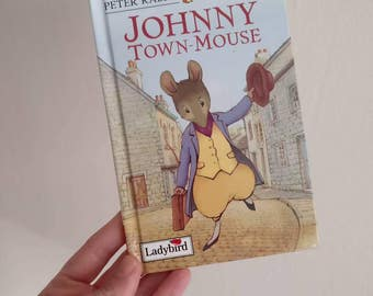 Johnny Town Mouse Notebook handmade from a ladybird book Beatrix Potter Peter rabbit
